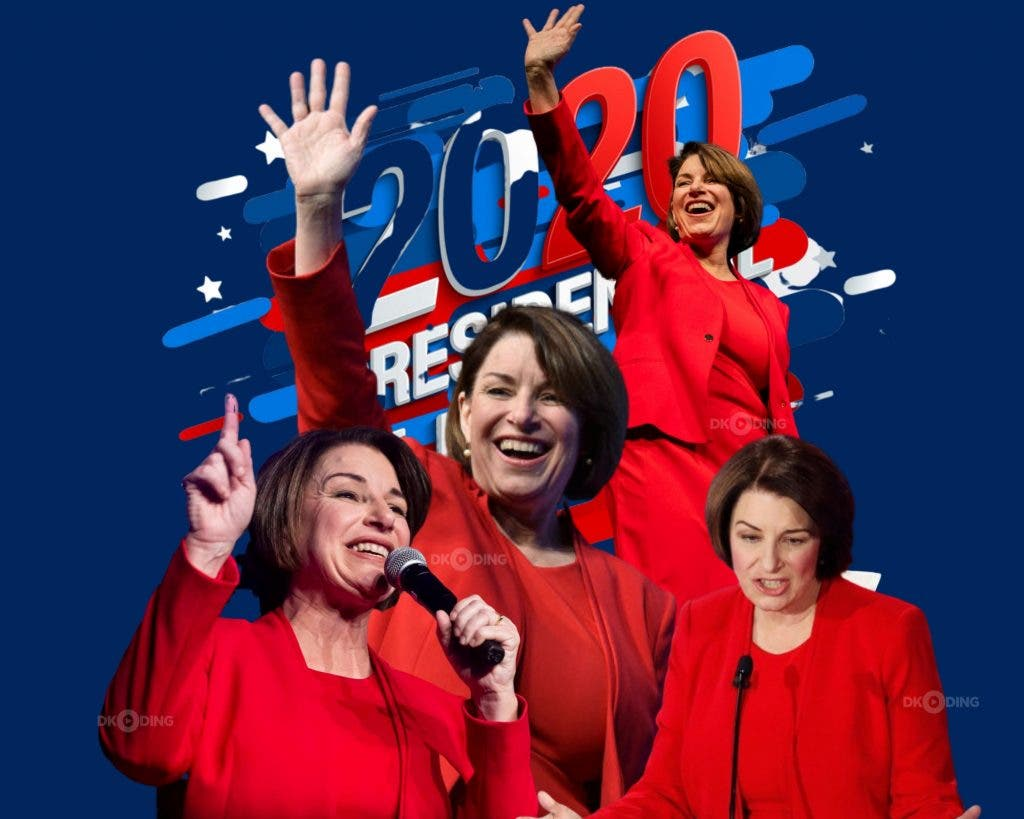 Amy Klobuchar — Could Be Number 1 Chocie Of Joe Biden For His Vice President Candidate
