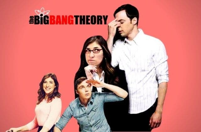 Big Bang Theory Amy and Sheldon Cooper
