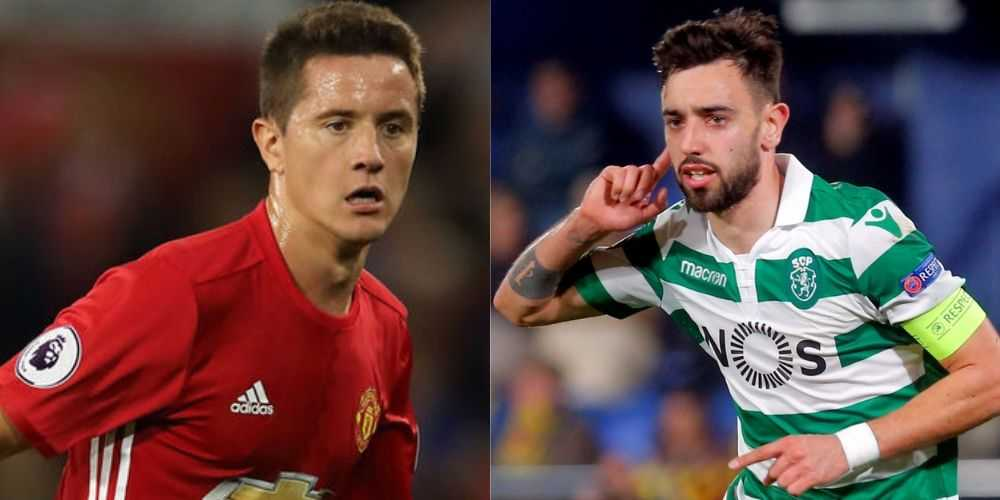 Ander Herrera Bruno Fernandes Football Sports DKODING