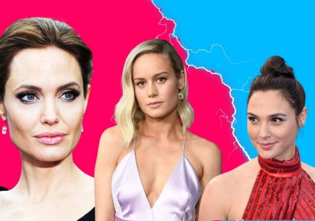 Angelina Jolie teams up with Brie Larson against Gal Gadot