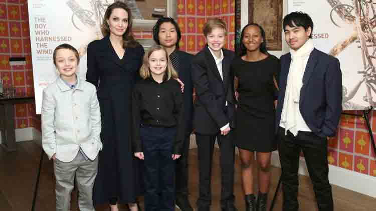 Angelina Jolie's kids are over the moon as she is all set to join the Marvel universe