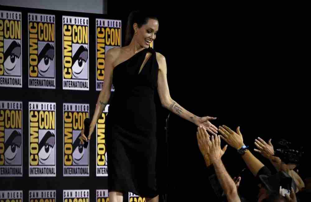 Angelina Jolie Comic Con Thena The Eternals DKODING