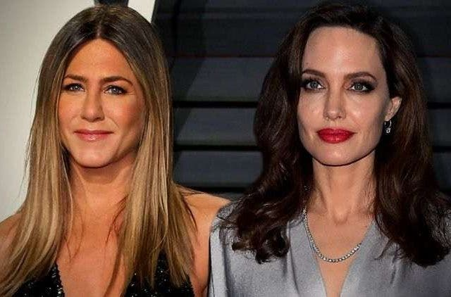 Jennifer Aniston Angelina Jolie DKODING