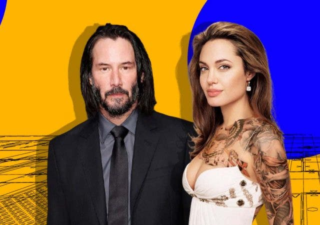 Angelina Jolie is secretly simmering with jealousy after Keanu Reeves' wedding rumours