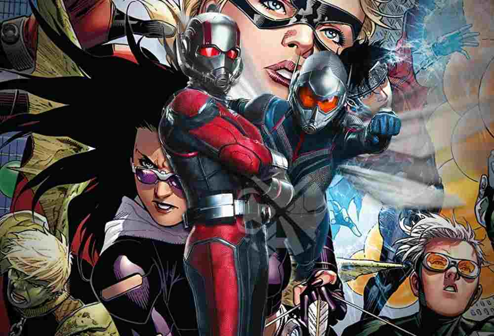 Young Avengers Ant Man DKODING