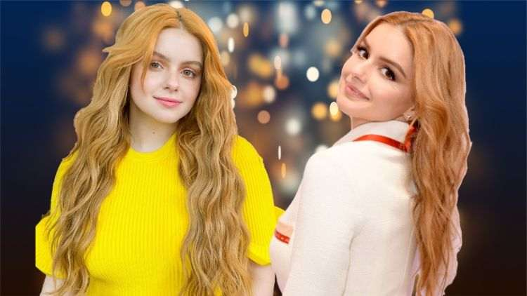 Ariel Winter Is The Perfect Hair-Chameleon As She Merges Yellow With Strawberry