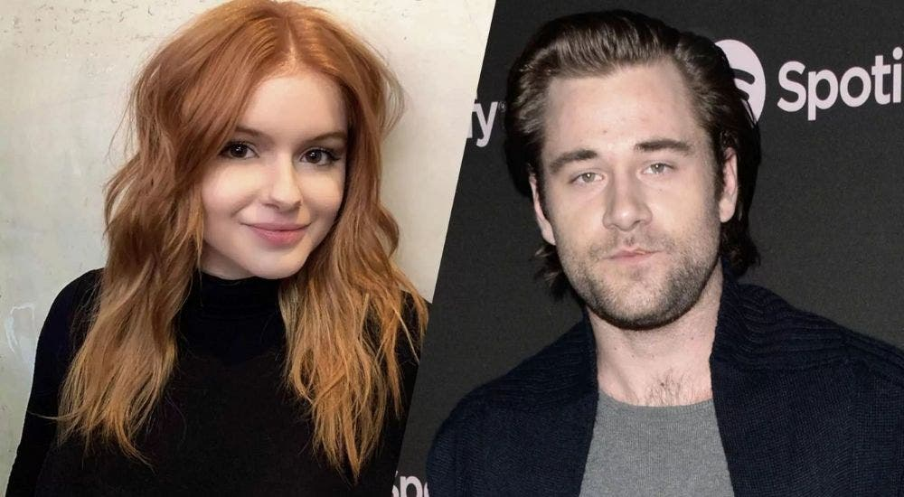 Ariel Winter and Luke Benward are quarantined together