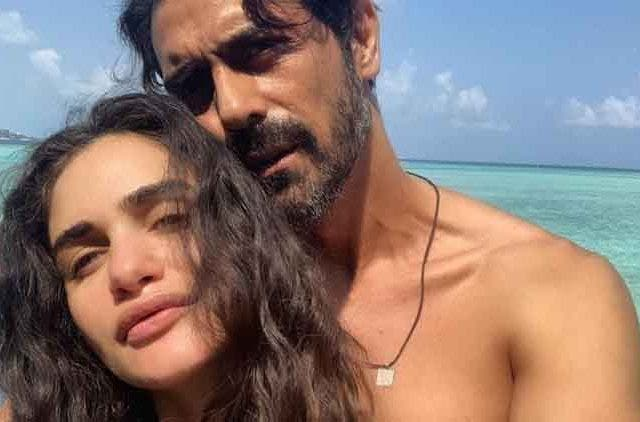 Arjun-Rampal-Girlfriend-Gabriella's-baby-boy-Videos-DKODING