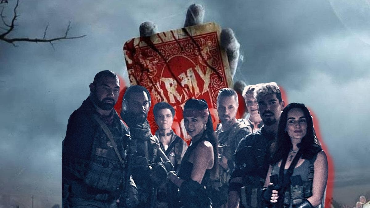 Army of Dead Zack Snyder