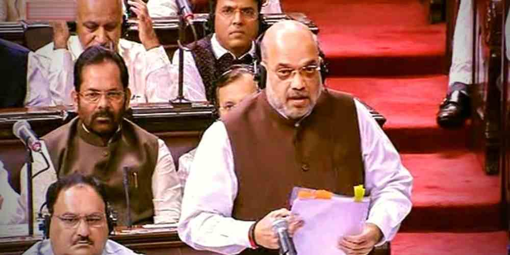Article-370-Never-Jammu-And-Kashmir-Unite-With-India-Home-Minister-Amit-Shah-India-Politics-DKODING