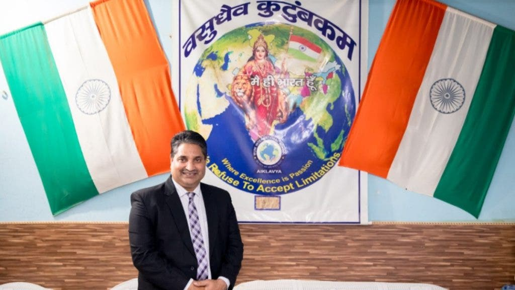 Ashok Thakur, Bharat Bodh, Muni International School