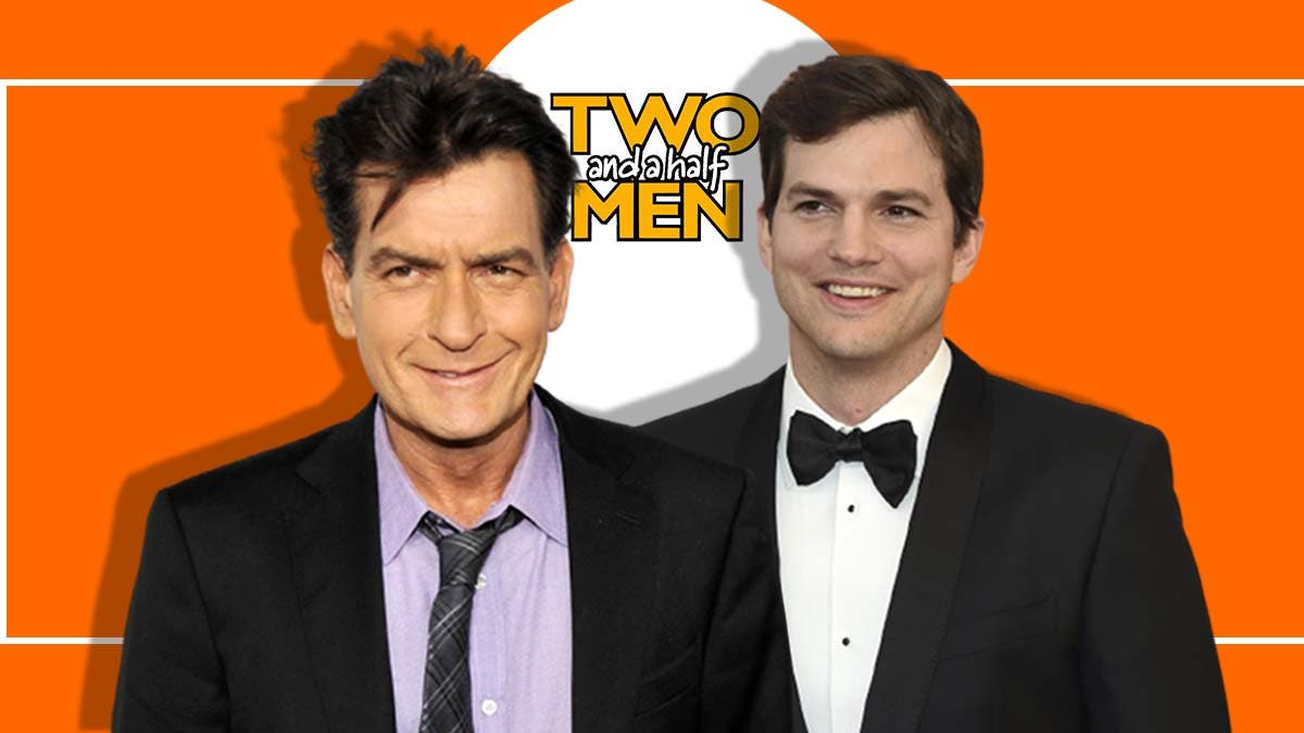 Kutcher Sheen Two And A Half Men