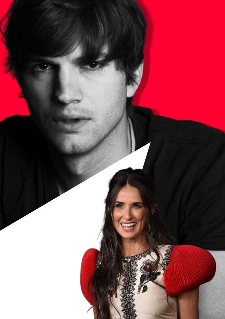 The Weird Way Ashton Kutcher Coped With the Divorce from Demi Moore