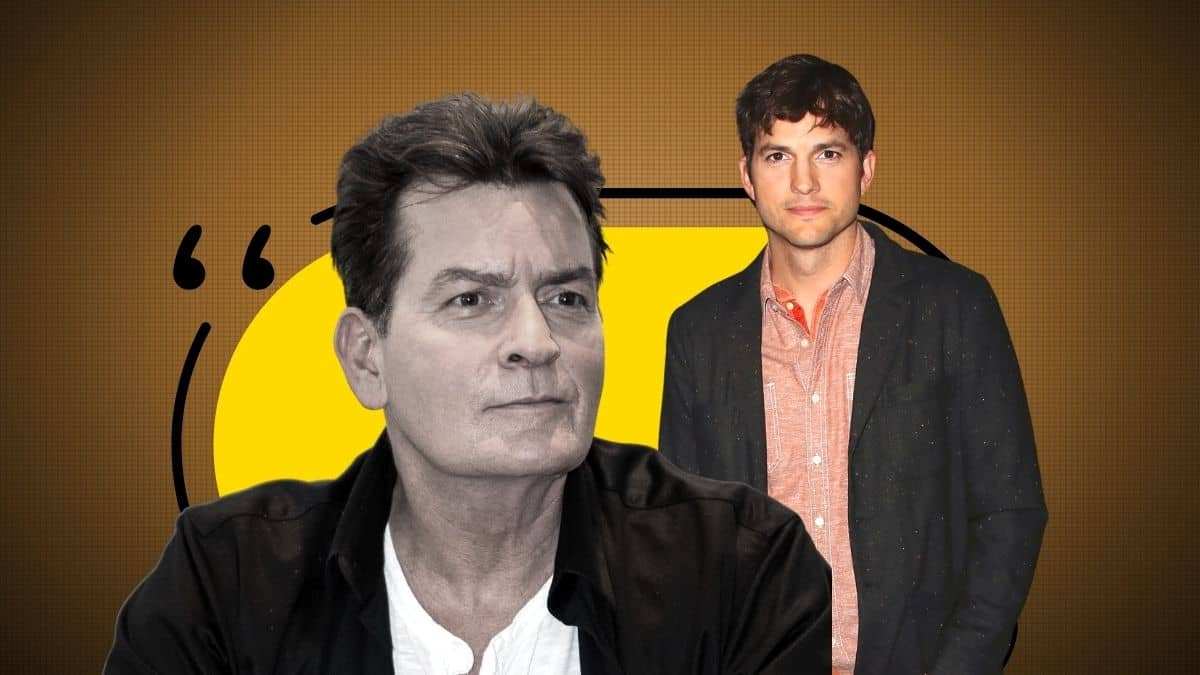 Ashton Kutcher vs Charlie Sheen