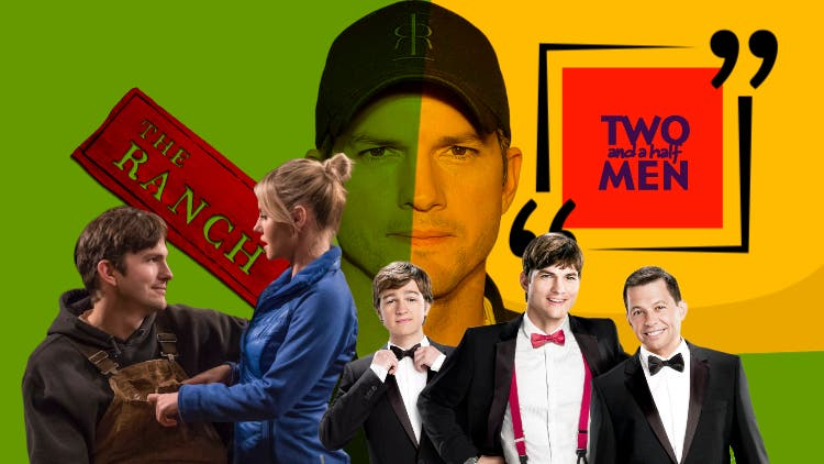Ashton Kutcher To Make A Tough Choice Between The Ranch Season 9 Or Two And A Half Men Season 13