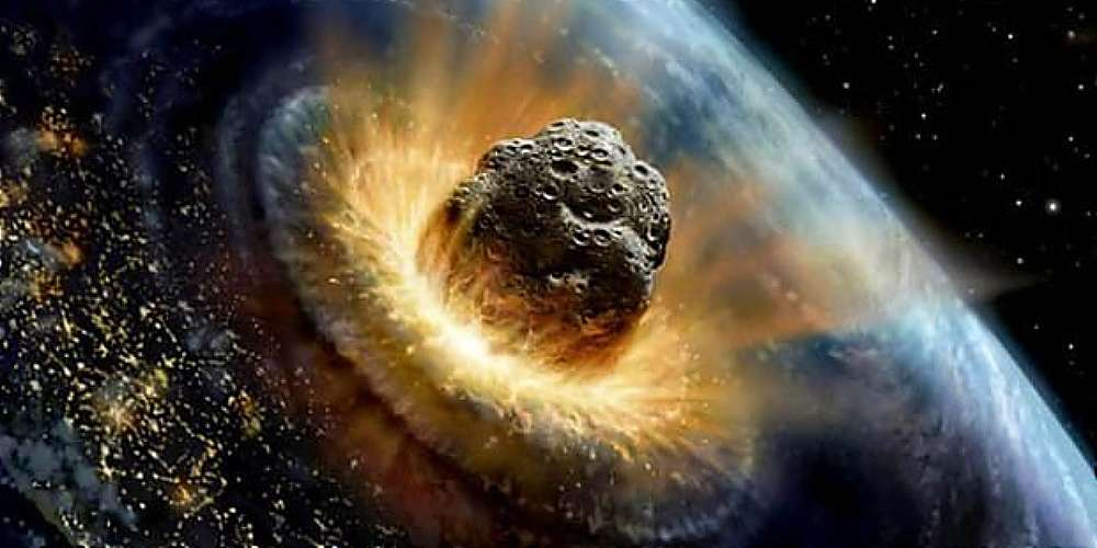 If Asteroid JF1 hits Earth