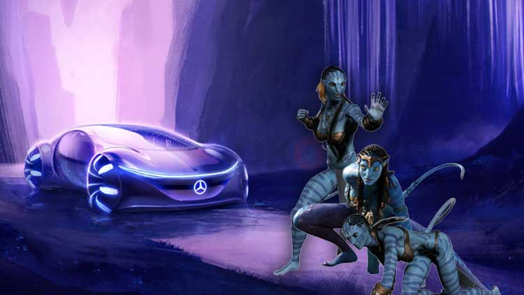 A Sustainable Mercedes Car Chase for Avatar Sequel