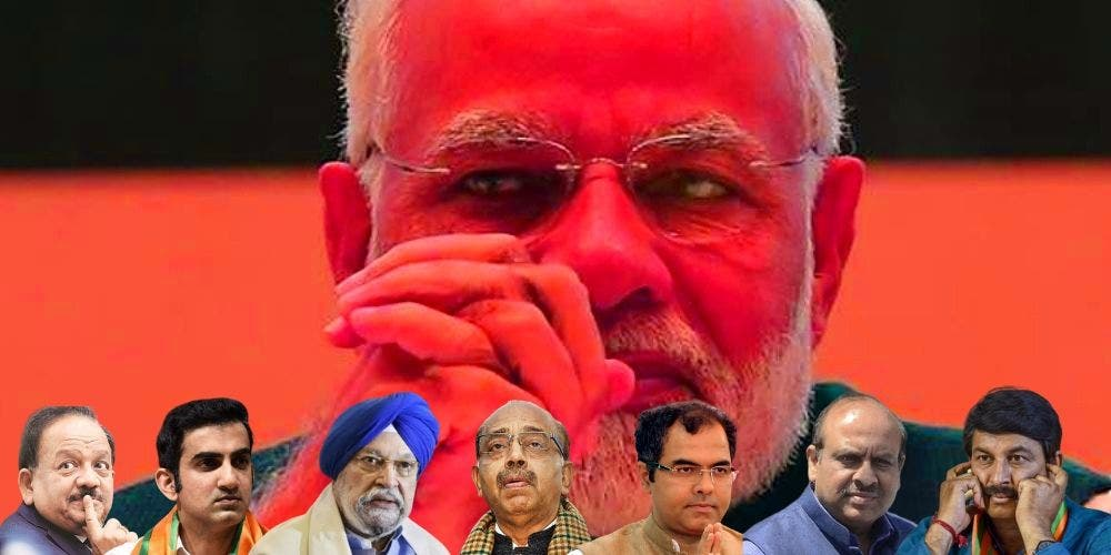 Confused, Faceless BJP Destined For Defeat in Delhi