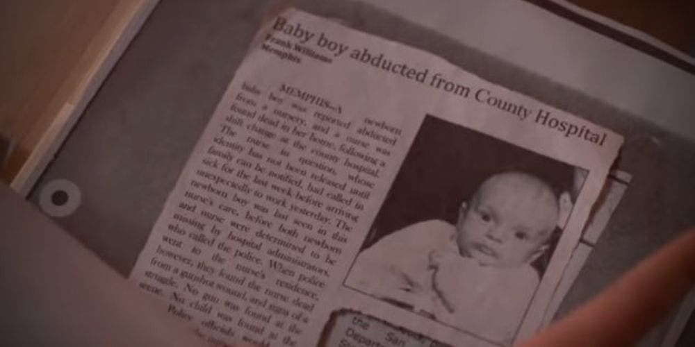 Baby Boy Abducted News Clipping Stranger Things Test Subject TV Web Entertainment DKODING