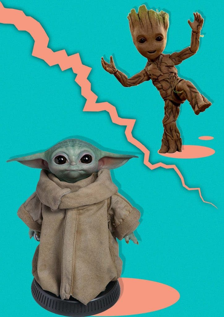 Who is better - Baby Yoda or Baby Groot?