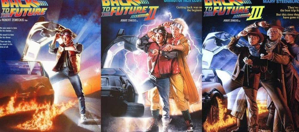 Back to the Future Movie Series