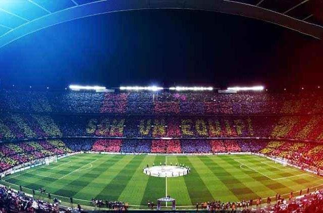 Barcelona Stadium Football Sports DKODING