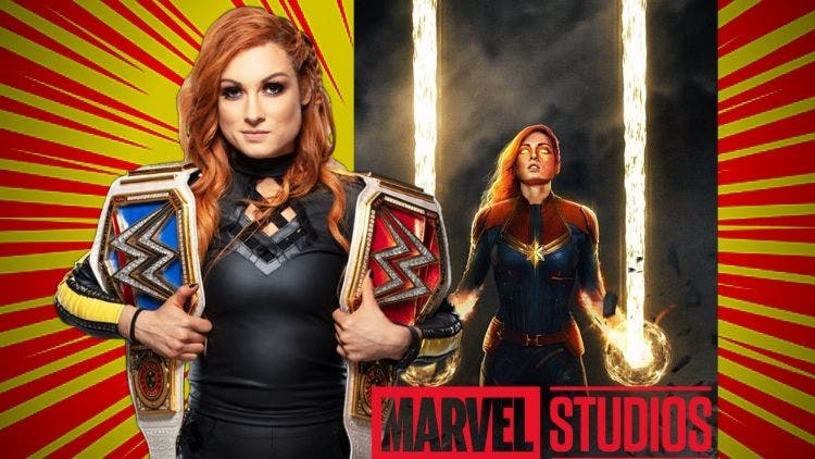 WWE Champion Becky Lynch To Overpower Brie Larson's Captain Marvel