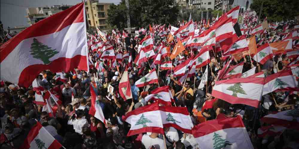 President Michel Aoun Anti Government Protest Global DKODING