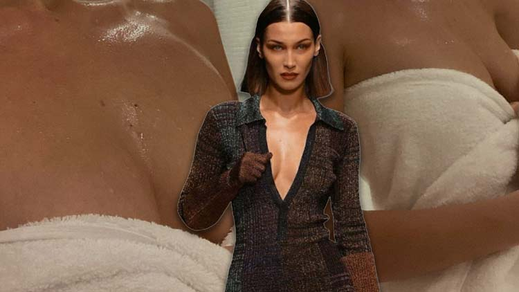 Bella Hadid Goes Bare: Leaves Little For Imagination