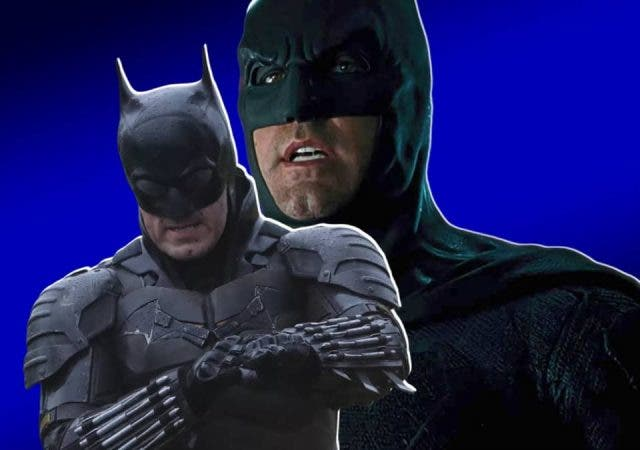 Batsuit Ben Affleck And Robert Pattinson