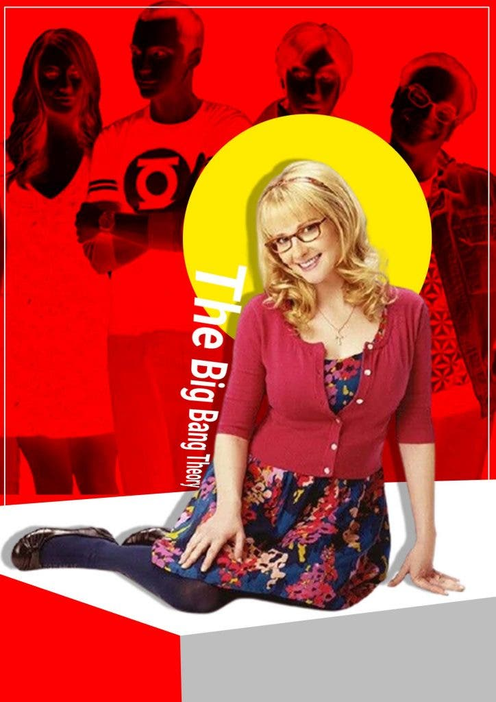 Bernadette entered 'The Big Bang Theory' as a supporting cast