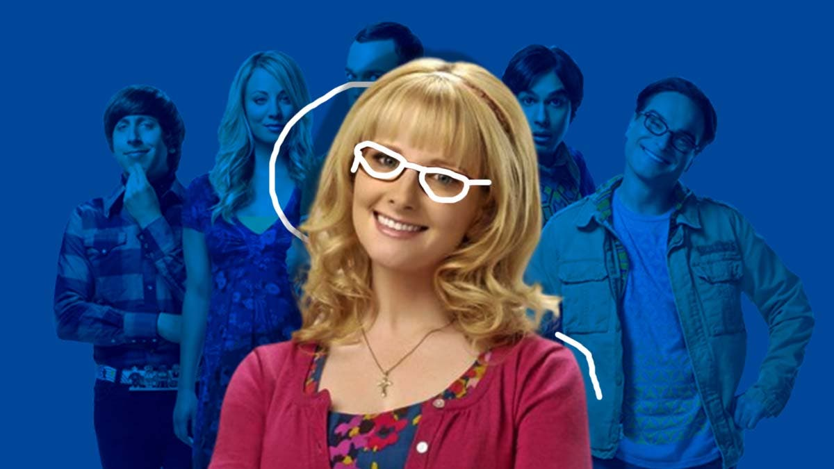 Bernadette Rostenkowski is the main character in 'The Big Bang Theory'