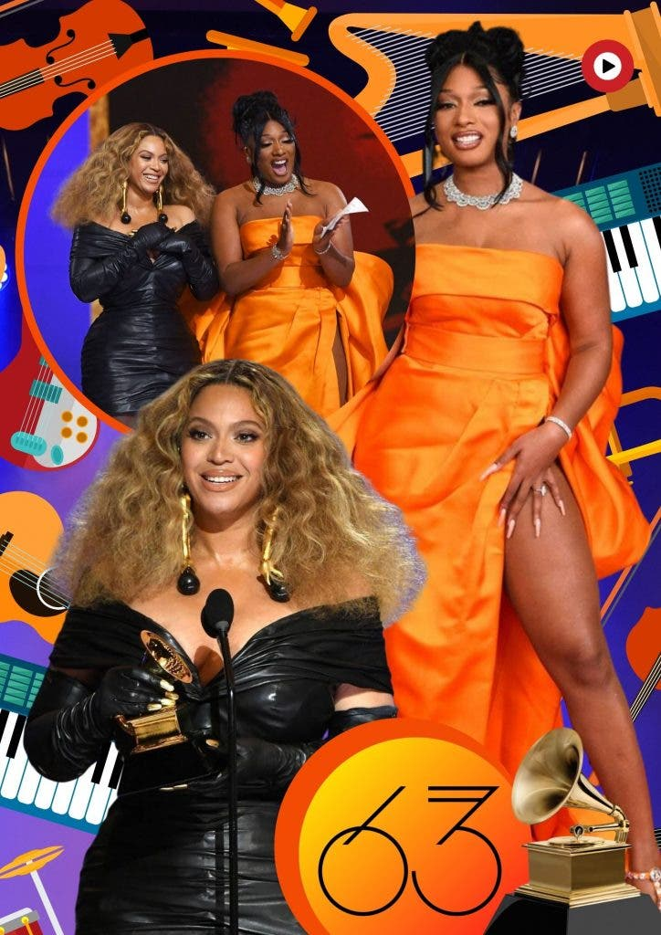 Beyonce and Megan Thee Stallion Grammys 2021: Top 10 Show Stopping Moments From Awards Night Highlight Reel