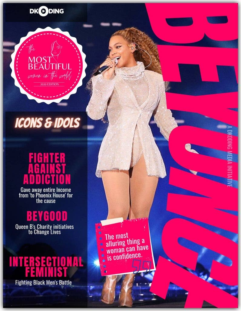 Beyonce among the Most Beautiful Women in the World at the People Who Inspire (PWI) Awards 2020