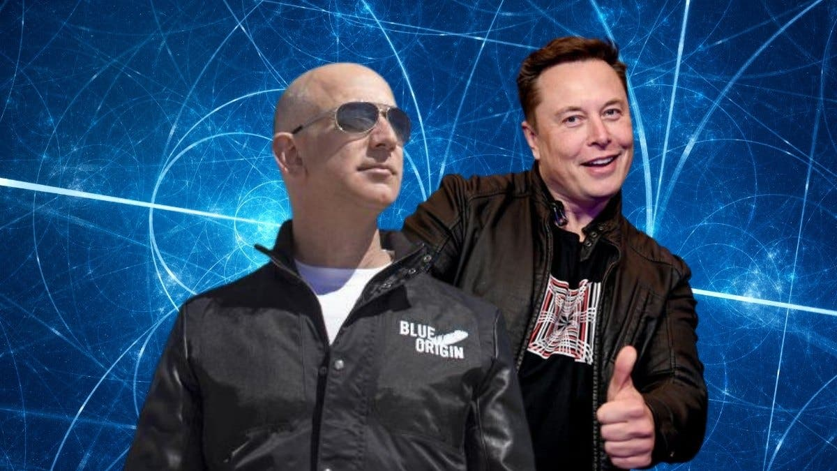 Bezos and Musk Space Plan