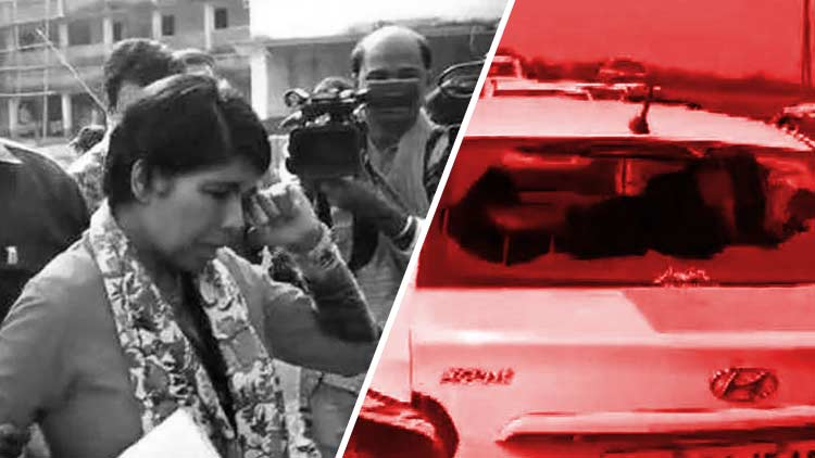 Bharati-Ghoshs-Convoy-Attacked-WB-CEO-Directs-DM-To-File-Report-India-Politics-DKODING