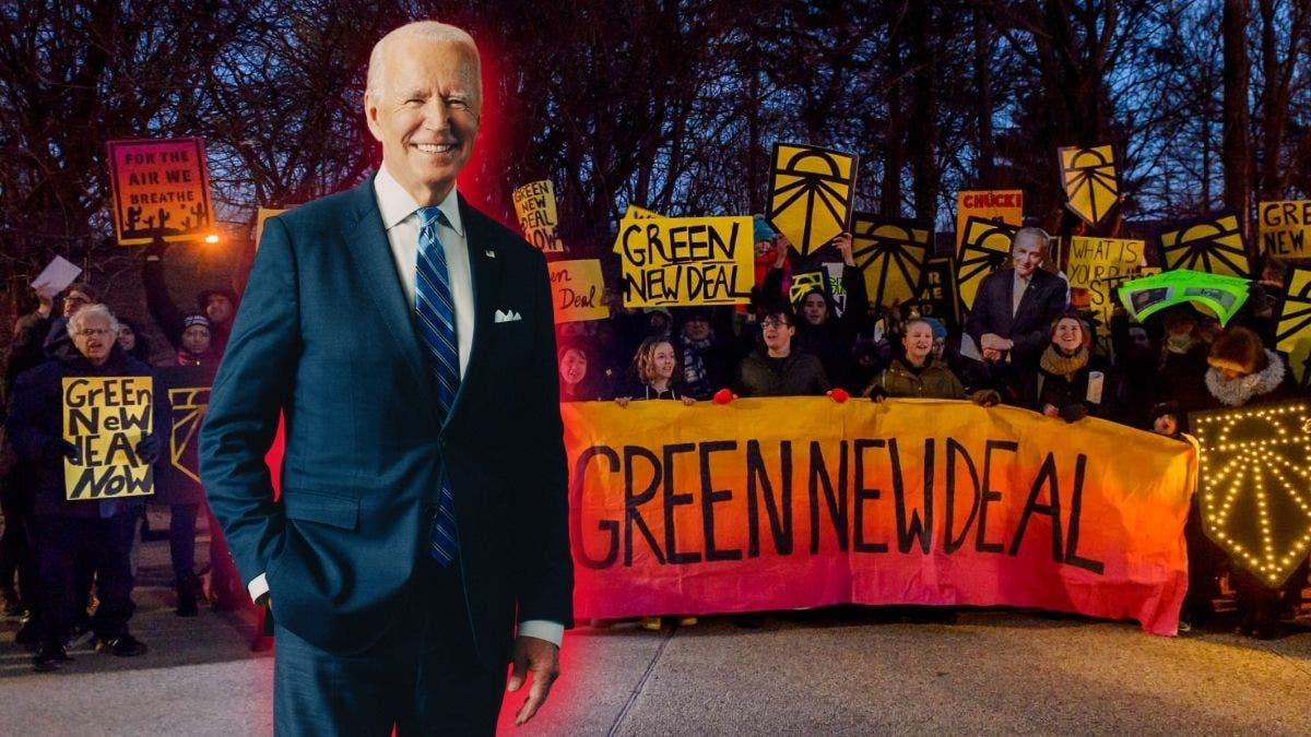 Biden's New Infrastructure Plan To Overhaul America Pivots On The Green New Deal