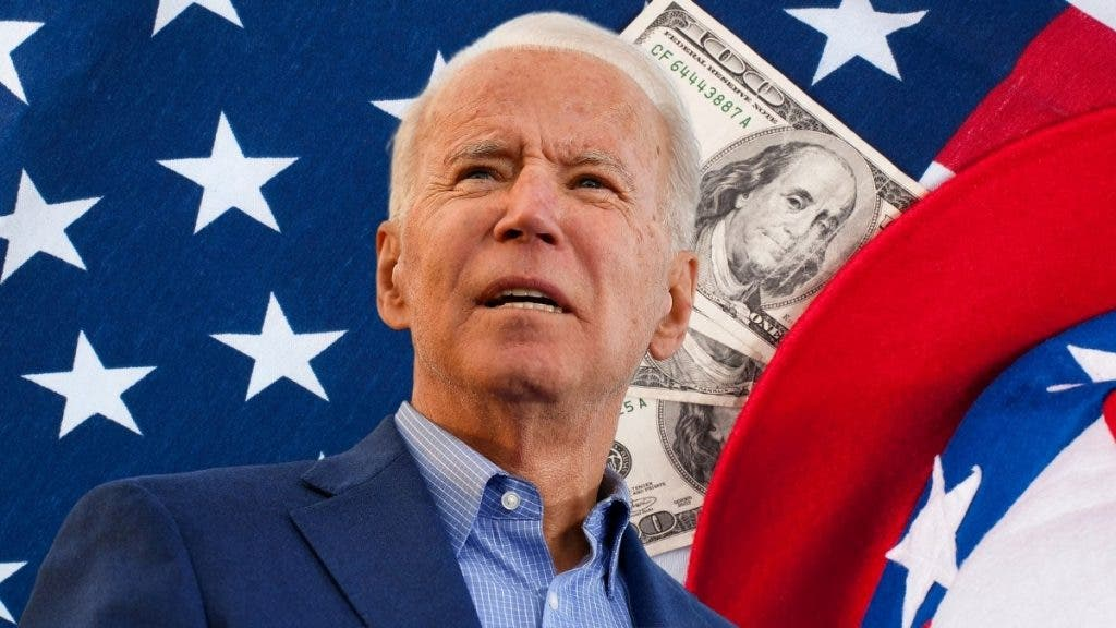 Biden has the confidence of his supporters but isn't getting any love from the US economy.
