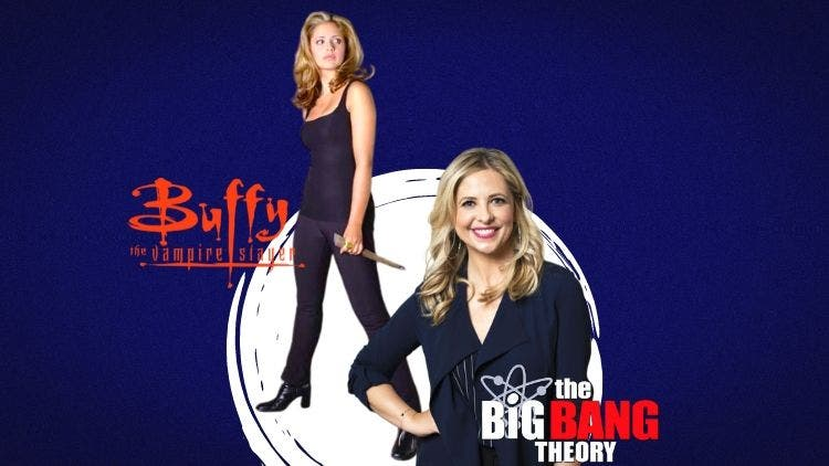 Sarah Michelle Geller Torn Between 'TBBT' and 'Buffy The Vampire Slayer'