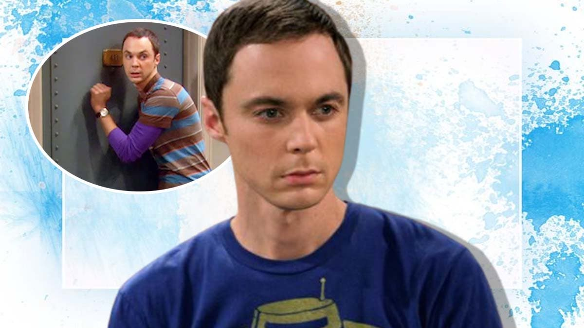 Why Sheldon knocks the door in a particular sequence?