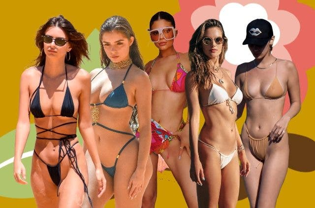 Celebrities in tiny bikinis DKODING