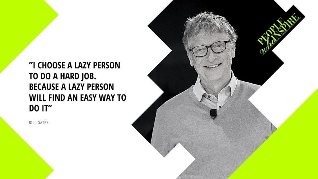 Bill Gates Quote - 10 Self-Made Billionaires — People Who Inspire The World