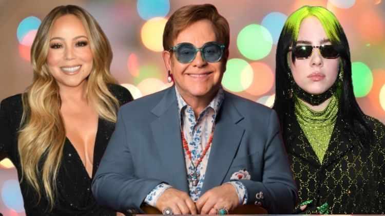 Billie Eilish, Mariah Carey, And Elton John Are Working In The Most Unique Way