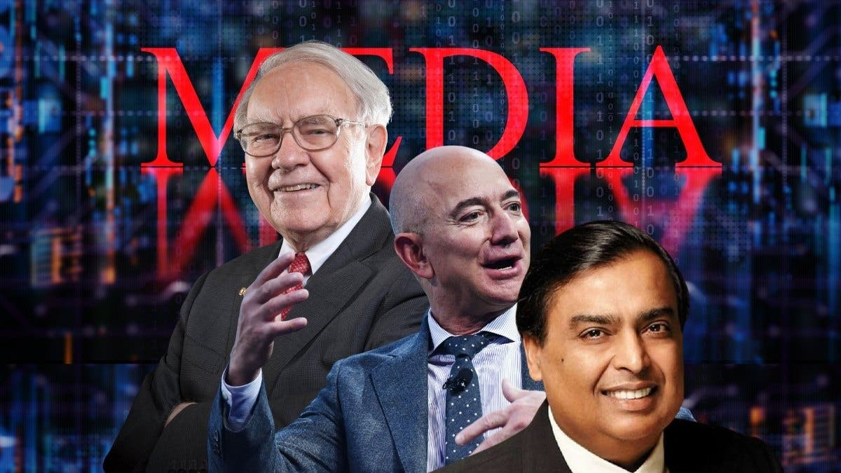 Why Billionaires buy Media Houses