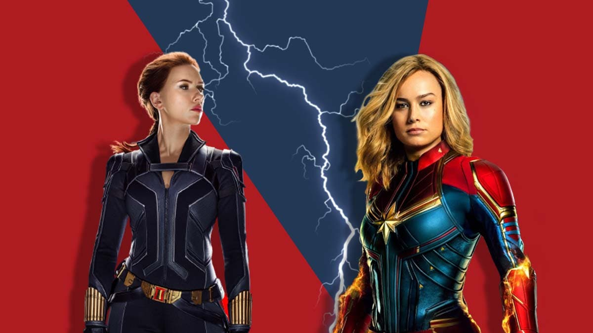It's Black Widow vs Captain Marvel for the tag of highest-paid MCU actress