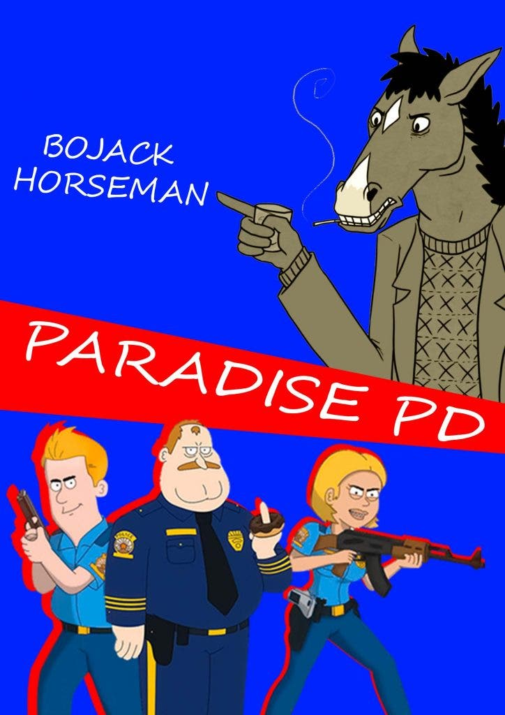Battle of Netflix anime moms! Paradise PD's' mom compete with 'BoJack Horseman's' mom?