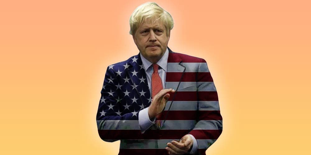 Boris Johnson Brexit Undercover Americanization