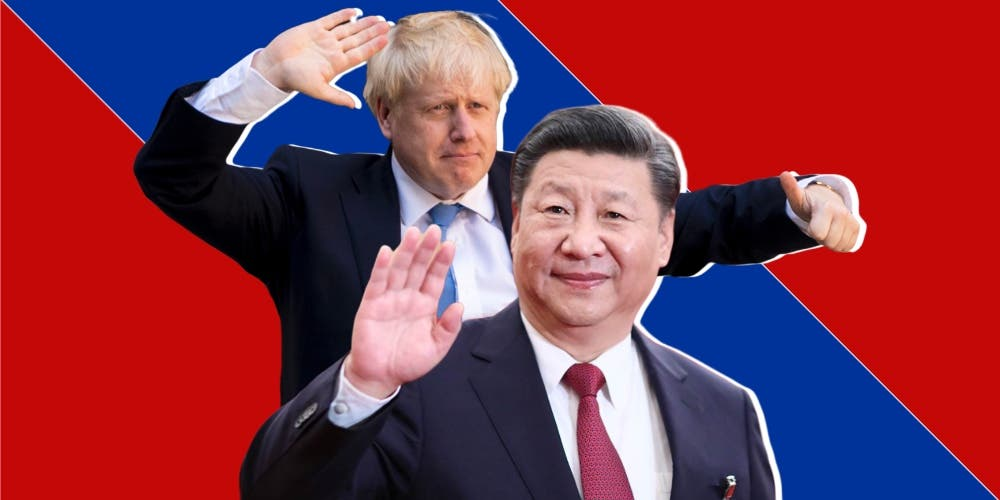 Will Boris Johnson's Project Defend Reinforce The New Cold War Against China?