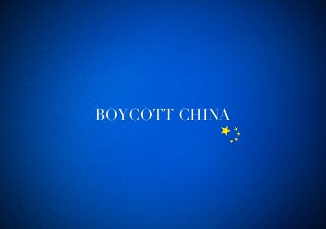 Boycott China analysed