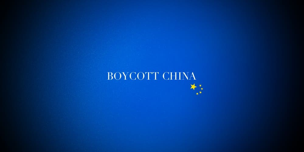 #BoycottChina — An Absurdity Shrouded In Patriotism